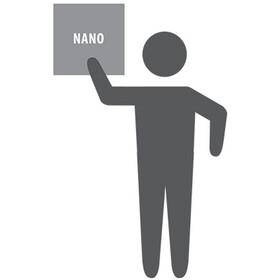 PackTowl Nano Handtuch teal pixel